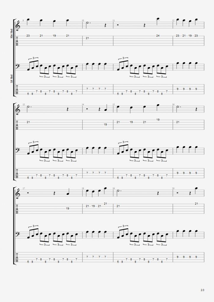 X Files Theme - 5 String Bass 2